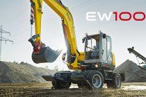 Noul Wacker Neuson EW100 îl înlocuieste pe 9503