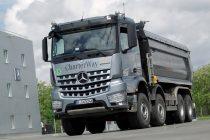 Proiectul Euro VI Truck Roadshow al Mercedes-Benz