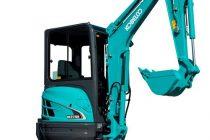 3 noi mini-excavatoare Kobelco: SK27SR, SK30SR şi SK35SR