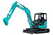 Kobelco introduce in Europa primul mini-excavator cu tehnologia iNDr