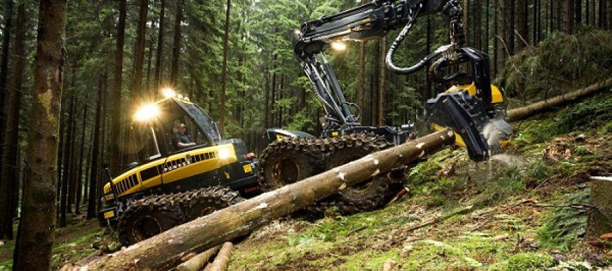 Mașini forestiere – metode de acționare. Exploatare. Întreținere