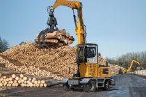 La Ligna 2015, Liebherr vine cu noul LH 35 M Timber