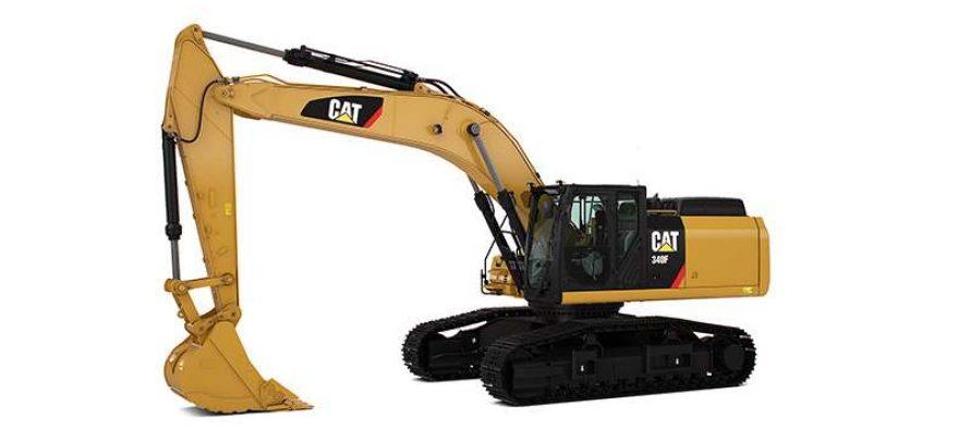 Puternic, economic, sigur, robust, confortabil: noul excavator Cat 340F