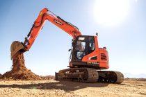 Excavatoarele pe șenile Doosan DX140LC-5 și DX140LCR-5 trec la Tier 4f
