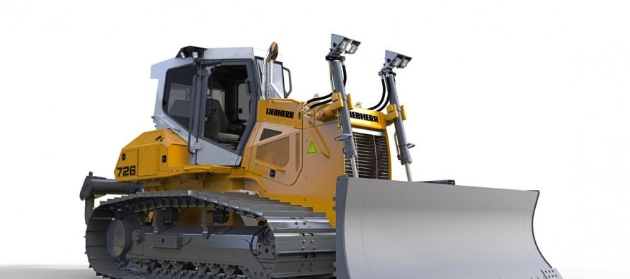 Liebherr isi extinde Generatia 6 de buldozere pe senile cu noul model PR 726