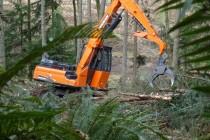 Încărcătorul forestier Doosan DX300LL-5: performanțe mai bune şi durabilitate