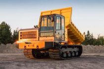 Terramac a lansat un nou transportor şenilat: RT14