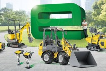 """Seria """"zero emission"""" de la Wacker Neuson poartă eticheta verde """"e"""""""