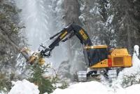 Întreţinerea utilajelor forestiere în condiţii aspre de iarnă. Patru sfaturi de la Tigercat