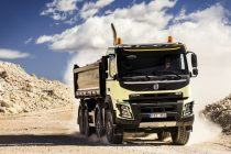Cinci noi caracteristici pentru camioanele de construcţii Volvo FMX