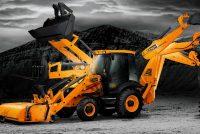 Buldoexcavatorul, faţă în faţă cu duoul mini-încărcător /excavator compact