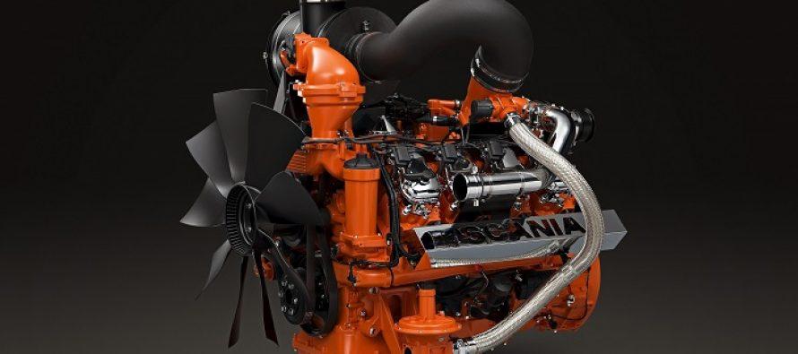 Motor Scania V8 pe… gaz