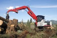 4040 TL este ultimul model de încărcător forestier Link-Belt