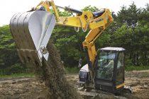 Conceptul de braţ Sigma, pe noul midi-excavator B7-6
