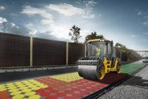 Volvo oferă sistemul Compact Assist cu funcție de calculare în timp real a densității asfaltului