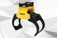 Engcon launches new timber grab series for excavators