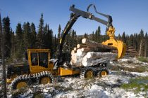 Cel mai puternic forwarder de 25 t capacitate: Tigercat 1085B