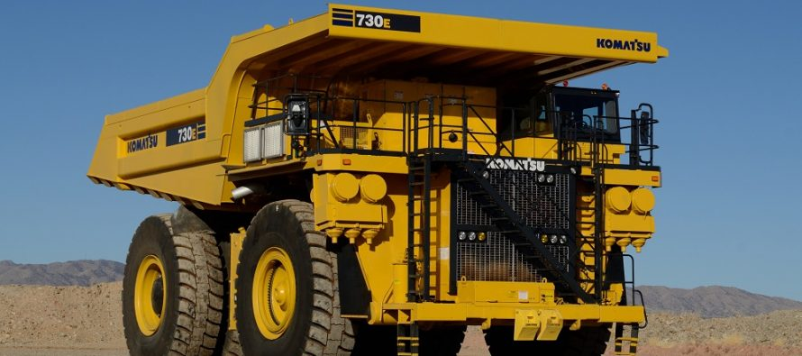Komatsu achiziţionează producătorul american de utilaje miniere Joy Global