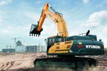 Un nou excavator pe şenile de la Hyundai: HX480 L de 49,5 t