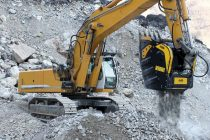 MB Crusher for the first time at MINExpo