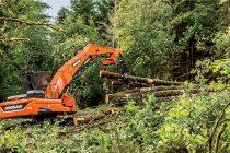 Cel mai nou şi mai mare încărcător forestier din gama Doosan: DX380LL-5