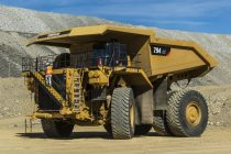 Caterpillar 794 AC mining truck makes its show debut at MINExpo