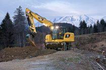 Îmbunătăţiri de design la excavatoarele pe roţi şi de manipulare a materialelor din Seria F