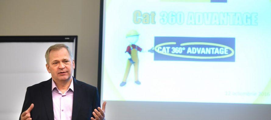 Bergerat Monnoyeur lansează în România programul: CAT 360° ADVANTAGE