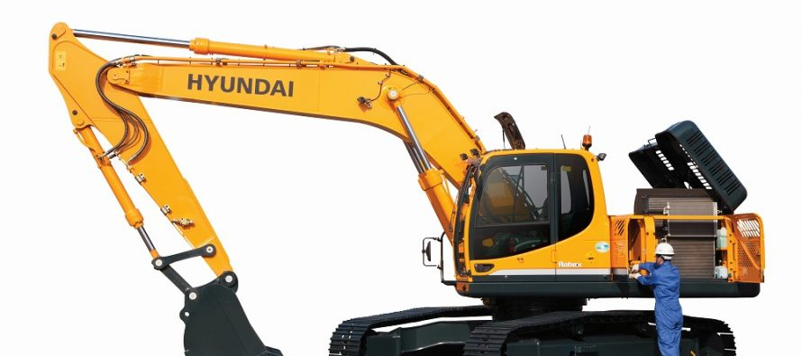 Hyundai introduce kit-uri de conversie a motoarelor pe excavatoare şi încărcătoare frontale