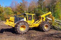 632E este cel mai mare tractor articulat forestier Tigercat