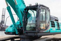 Kobelco aduce pe piața europeană cel mai mare excavator al său: SK500LC-10