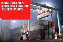 Konecranes a încheiat procedura de achiziţie a MHPS de la Terex