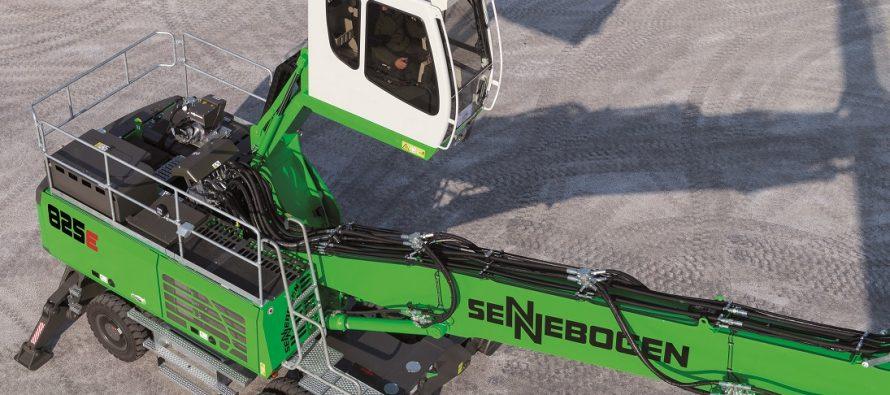 Sennebogen 825 E impune un nou standard în manipularea materialelor