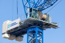 New LCL700 luffing-jib crane from Linden Comansa