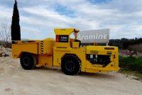 T500D se alătură utilajelor subterane Aramine din clasa mini