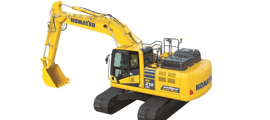 Komatsu a introdus pe piaţa europeană excavatorul hidraulic PC210LCi-11