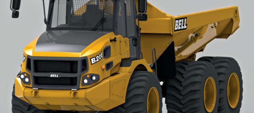 Cu modelul B20E, Bell recucereşte clasa de 18 t