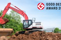 Excavatorul Link-Belt 250X4, distins cu Good Design Award