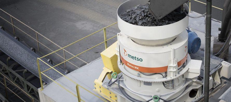 MX, ultima noutate Metso în materie de concasoare cu con