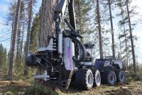 Logset has launched a new harvester head TH85