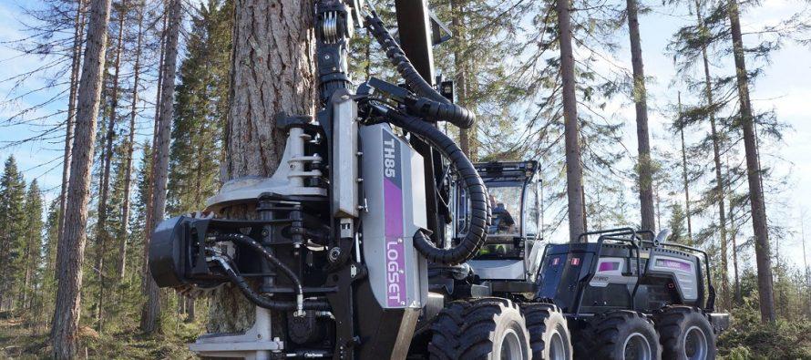 Logset a lansat noul cap procesor pentru harvestere TH85