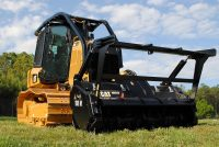Cat D3K2 Mulcher – productive design with operator safety and comfort as priorities