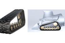 Noua linie Vortech de şenile din cauciuc pentru miniîncărcătoare compacte pe şenile