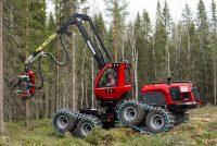 Stabilitate și amprentă redusă la sol cu harvesterul Komatsu 931XC
