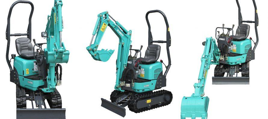 Kobelco aduce în Europa miniexcavatorul super-compact SK08