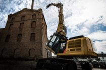 Caterpillar exhibits specialized equipment at DDR Expo 2017