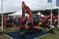 Kubota has unveiled a new eco friendly excavator at Plantworx 2017