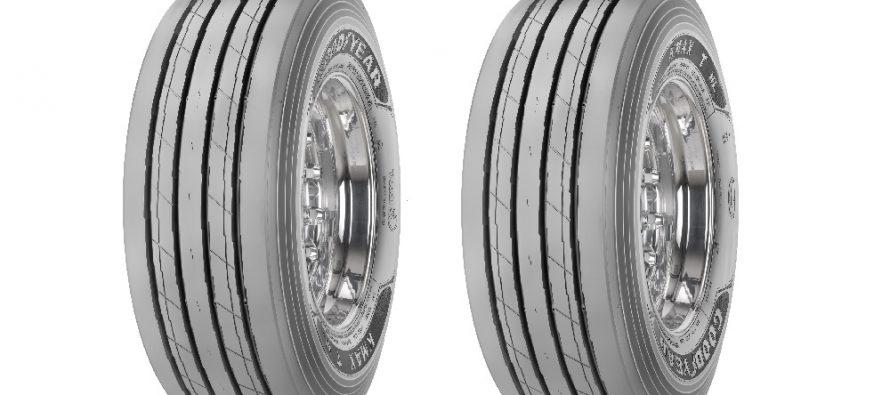 Goodyear lansează noile anvelope reșapate cu capacitate mare de încărcare pentru trailere