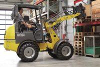 Noi îmbunătățiri ale încărcatorului frontal electric WL20e