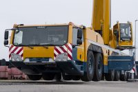 New Demag AC 300-6 all terrain crane features class leading strength, reach and versatility